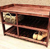 Stand handmade. Livemaster - original item Shoe Cabinet. Handmade.