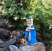 Куклы и игрушки ручной работы. Ярмарка Мастеров - ручная работа Кошка войлочная, Грузинская танцовщица. Handmade.