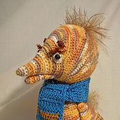Куклы и игрушки ручной работы. Ярмарка Мастеров - ручная работа Гадкий Утёнок в шарфике. Handmade.
