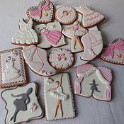 handmade. Livemaster - original item Set of gingerbread Ballet.. Handmade.