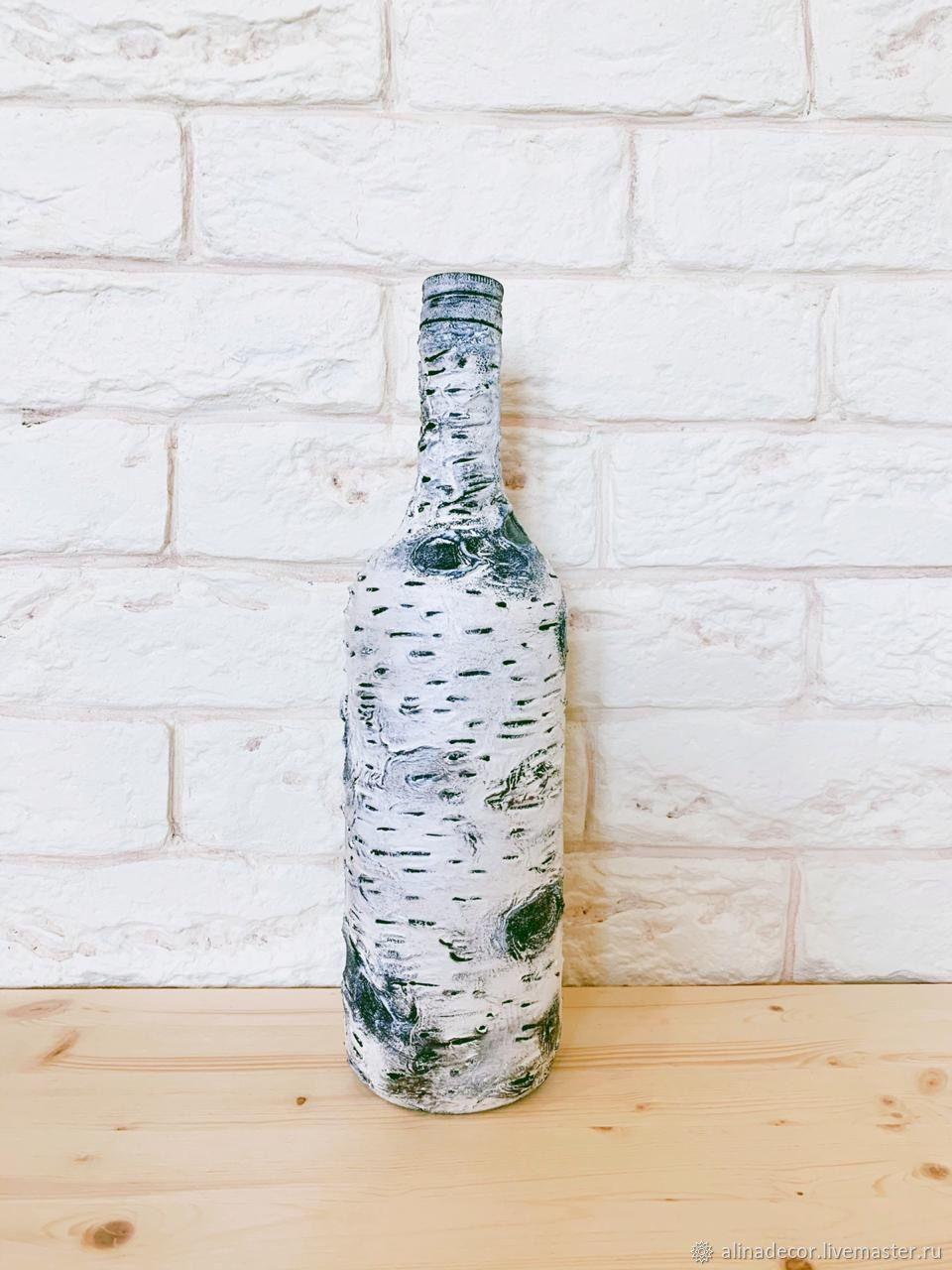 Decorative bottle Birch, Vases, Ramenskoye,  Фото №1