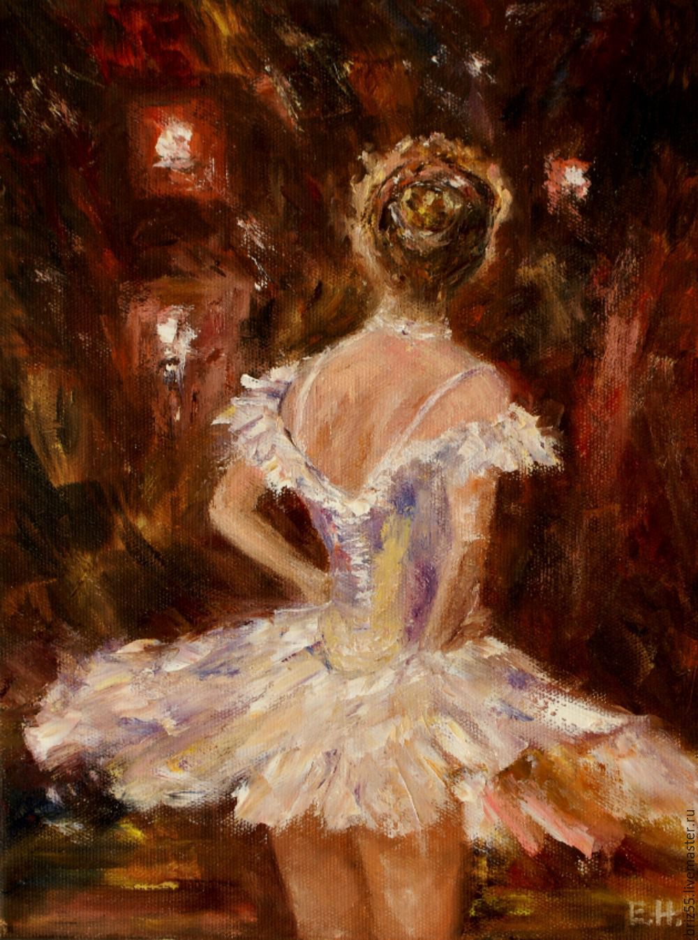 Oil painting In the spotlight, Pictures, Zelenograd,  Фото №1