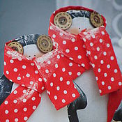 Куклы и игрушки ручной работы. Ярмарка Мастеров - ручная работа Тильда Пингвин. Handmade.