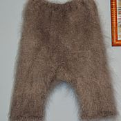 Одежда handmade. Livemaster - original item Shorts knickers down knitted very warm large size. Handmade.