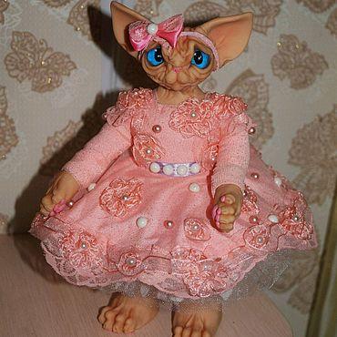 """Куклы и игрушки ручной работы. Ярмарка Мастеров - ручная работа Интерьерная кукла """"Кошка сфинкс"""".. Handmade."""