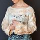 """Кофты и свитера ручной работы. Ярмарка Мастеров - ручная работа. Купить """"Облачко"""" джемпер валяный Бохо. Handmade. Белый"""