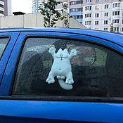Автомобильные сувениры ручной работы. Ярмарка Мастеров - ручная работа Кот Саймона автомобильный 25 см. Handmade.