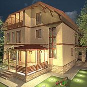 Дизайн и реклама ручной работы. Ярмарка Мастеров - ручная работа Реконструкция дома. Handmade.