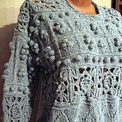 Одежда handmade. Livemaster - original item Sweater women knitted. With cones.. Handmade.
