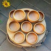Банки ручной работы. Ярмарка Мастеров - ручная работа Солонка из дуба. Handmade.