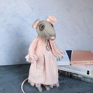 Куклы и игрушки ручной работы. Ярмарка Мастеров - ручная работа Крыса Виолетта. Handmade.