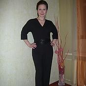 """Одежда ручной работы. Ярмарка Мастеров - ручная работа Комбинезон """"Классик  Black"""". Handmade."""