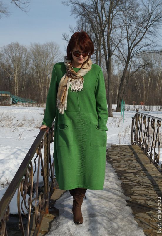 Dress - 'Emerald', Dresses, Michurinsk,  Фото №1
