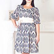 Одежда ручной работы. Ярмарка Мастеров - ручная работа Plus size! Шифоновое платье. Нарядное платье. Handmade.