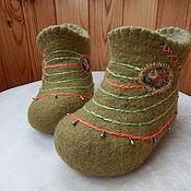 Обувь ручной работы. Ярмарка Мастеров - ручная работа Валеночки. Handmade.