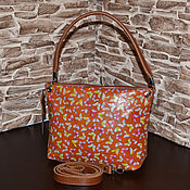 Сумки и аксессуары handmade. Livemaster - original item Model 108 classic bag: Bag leather women`s walking Bag. Handmade.