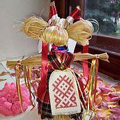Народная кукла ручной работы. Ярмарка Мастеров - ручная работа Народная кукла: Коза. Handmade.