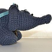 Куклы и игрушки ручной работы. Ярмарка Мастеров - ручная работа Игрушка Слоник вязаный. Handmade.