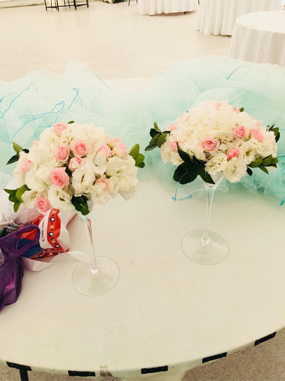 Композиции из живых цветов, Свадебные цветы, Москва, Фото №1