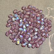 Материалы для творчества handmade. Livemaster - original item 25pcs spacer Beads 4mm MX20060 Czech Fire Polished beads. Handmade.