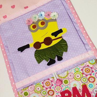 Works for children handmade. Livemaster - original item Pockets in kindergarten. Handmade.