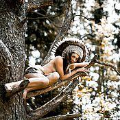 Одежда handmade. Livemaster - original item Indian headdress - Spring Dawn III. Handmade.
