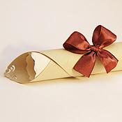 """Свадебный салон ручной работы. Ярмарка Мастеров - ручная работа Приглашение-свиток """"Оперетта"""". Handmade."""