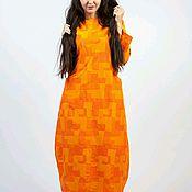 Одежда ручной работы. Ярмарка Мастеров - ручная работа Платье из джинсы стрейч. Handmade.
