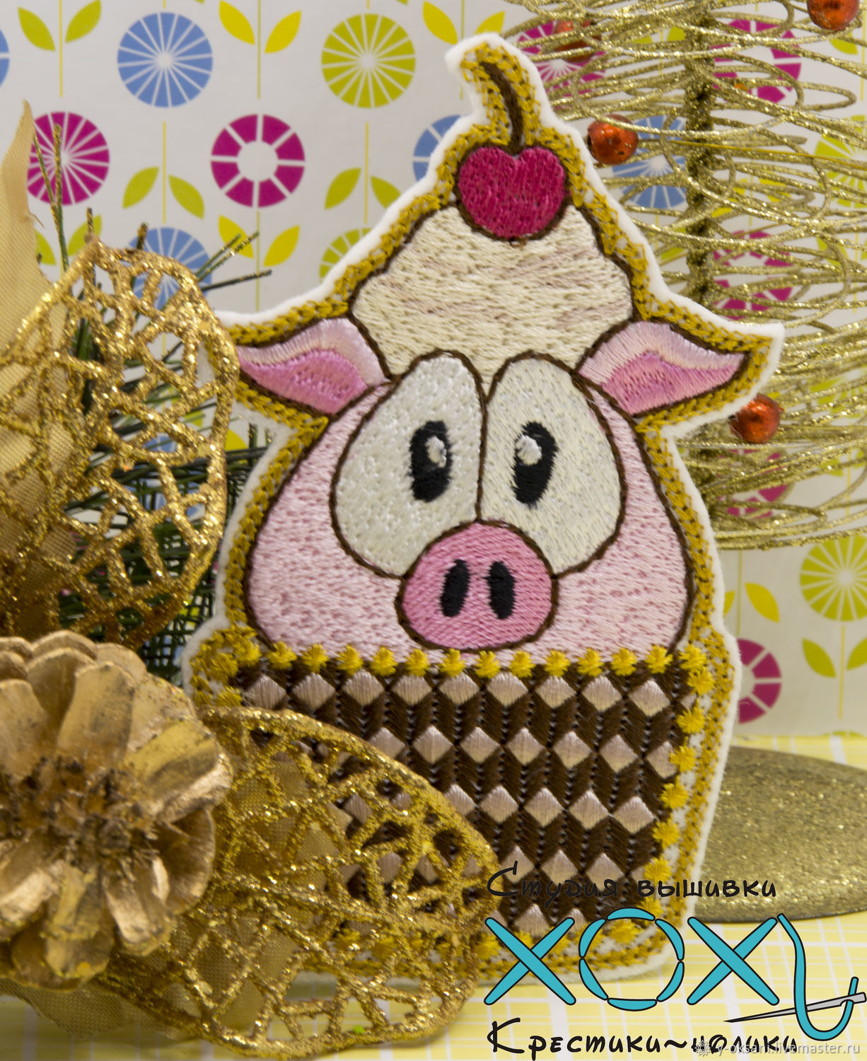 Needlework for the New Year of 2019 do it yourself