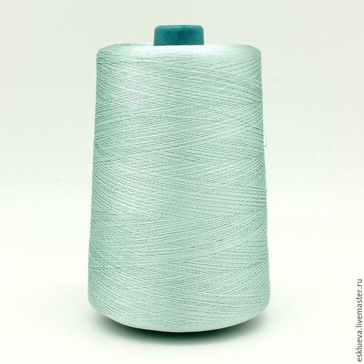 Вязание ручной работы. Ярмарка Мастеров - ручная работа. Купить 100 % Вискоза. Handmade. Ментоловый, пряжа, летняя пряжа