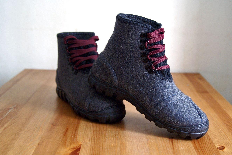 Мужские ботинки серого цвета, Ботинки, Москва,  Фото №1