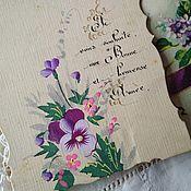 Винтаж ручной работы. Ярмарка Мастеров - ручная работа Старинные антикварные открытки. Handmade.