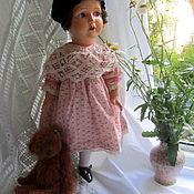 Куклы и игрушки ручной работы. Ярмарка Мастеров - ручная работа Платье для винтажной или антикварной куклы. Handmade.