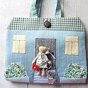 Куклы и игрушки ручной работы. Ярмарка Мастеров - ручная работа Сумочка-домик. Handmade.