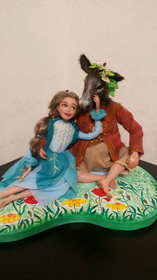 Коллекционные куклы ручной работы. Ярмарка Мастеров - ручная работа. Купить Любовь зла..... Handmade. Любовь, комедия, бумажные цветы