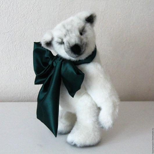"""Мишки Тедди ручной работы. Ярмарка Мастеров - ручная работа. Купить Мишка-Тедди """"Бернард"""". Handmade. Белый, мишка в подарок"""