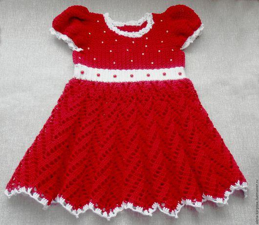 Платье для девочки на 1-2 годика