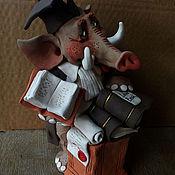 Подарки к праздникам ручной работы. Ярмарка Мастеров - ручная работа Слон - Адвокат. Handmade.