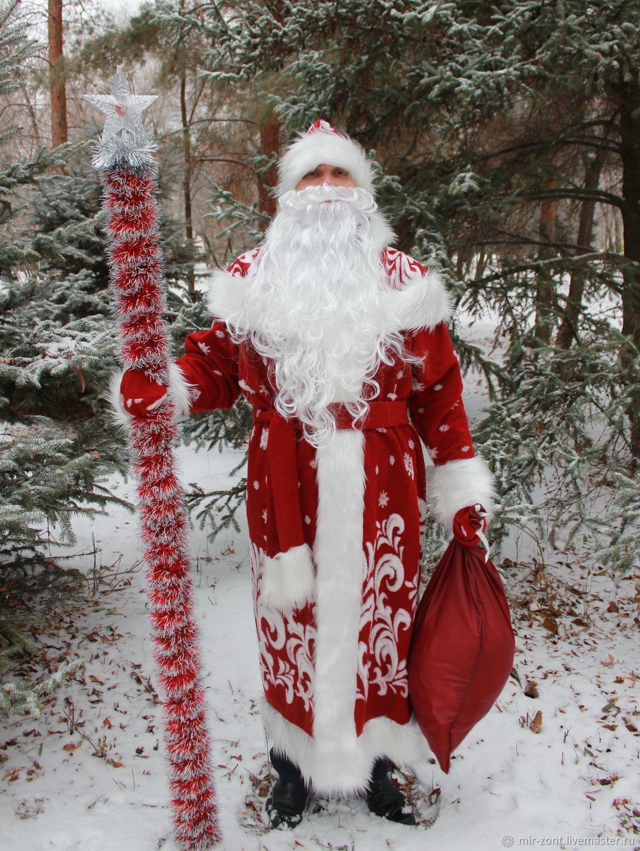 Костюм Деда Мороза - Боярский 1, Костюмы, Волжский,  Фото №1