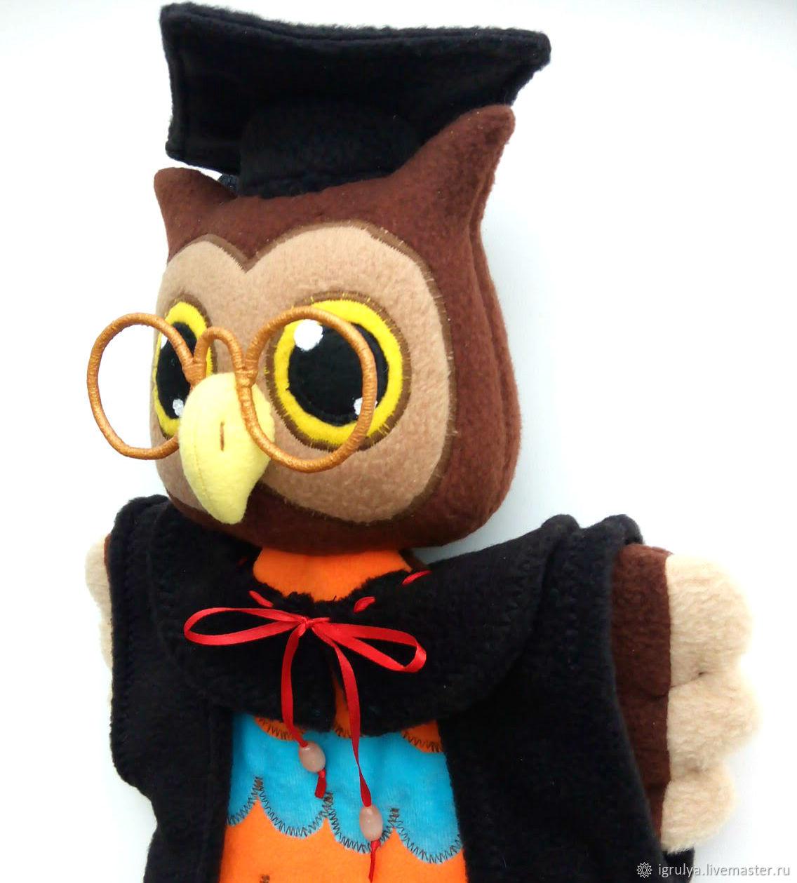 Мудрая сова своими руками