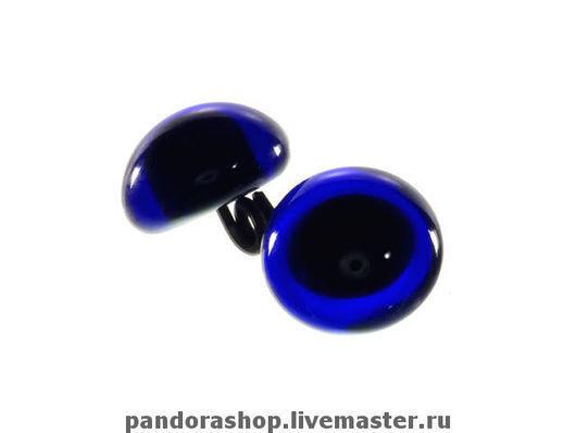 Темно-синие 8 мм - 130 рублей/пара