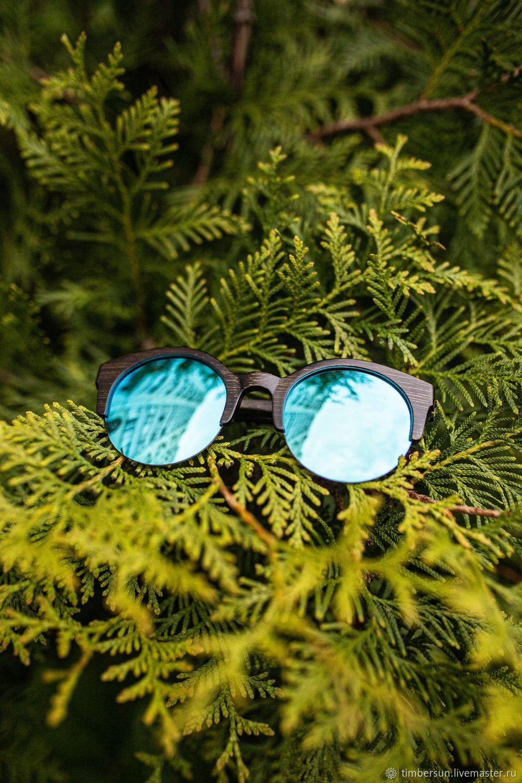 """""""Superstar Blue"""" от Timbersun, деревянные очки ручной работы, Очки, Москва,  Фото №1"""