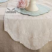 Для дома и интерьера handmade. Livemaster - original item Linen decorative table path, decorative table napkin. Handmade.
