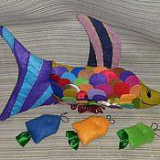 Куклы и игрушки ручной работы. Ярмарка Мастеров - ручная работа Радужная рыба. Handmade.