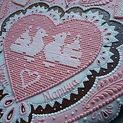 """Свадебный салон ручной работы. Ярмарка Мастеров - ручная работа Пряники расписные  """"Свадебные"""" архагельские козули. Handmade."""