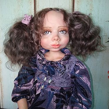 Dolls & toys handmade. Livemaster - original item Boudoir doll