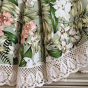 Для дома и интерьера handmade. Livemaster - original item Table cloth made of interior cotton