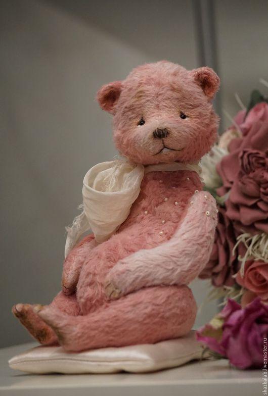 Мишки Тедди ручной работы. Ярмарка Мастеров - ручная работа. Купить Dusty Rose. Handmade. Мишка тедди, вискоза