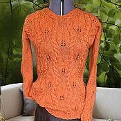 Одежда ручной работы. Ярмарка Мастеров - ручная работа Пуловер «Краски осени». Handmade.