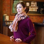 Аксессуары handmade. Livemaster - original item Linen scarf